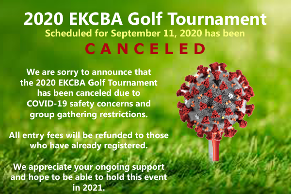 2020 Golf Tournament has been canceled